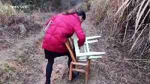 News video: Chinese teacher hikes up mountain in search of signal so she can live stream lessons for students during COVID-19 outbreak