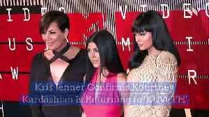 Kris Jenner Confirms Kourtney Kardashian Is Returning to 'KUWTH' [Video]
