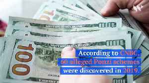 Investments in Ponzi Schemes Reaches Highest Level Since 2010 [Video]