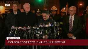 Evers, Morales, Barrett, Barnes hold press conference regarding Molson Coors shooting [Video]