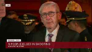 Evers calls for moment of silence during press conference following Molson Coors shooting [Video]