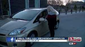 Drive-thru Ash Wednesday services [Video]