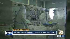 Trump: Coronavirus risk to Americans 'very low' [Video]
