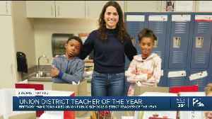 Brittany Hamilton Named Union Public Schools District Teacher of the Year [Video]