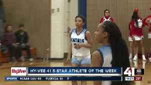 Sumner Academy's Rowe earns 2nd Hy-Vee Athlete of the Week Award [Video]