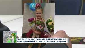 Family remembers 7-year-old killed in crash [Video]