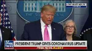 Trump slams Pelosi over coronavirus criticism [Video]