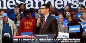 Florence South Carolina Mayor Stephen Wukela cheers Bernie Sanders being called socialist [Video]