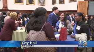 Philadelphia's Police Athletic League Holds 50th Anniversary PAL Day At City Hall [Video]