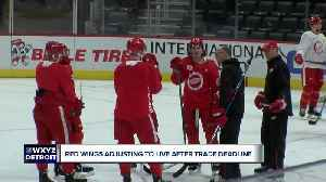 Dylan Larkin, Red Wings adjust to life after Athanasiou, Green trades [Video]