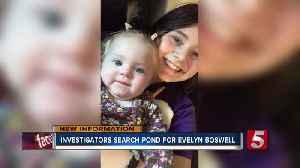 Evelyn Boswell case: Authorities searching pond in Wilkes County, NC [Video]