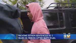 Former TCU Football Star Trevone Boykin Sentenced To 3 Years In Prison [Video]