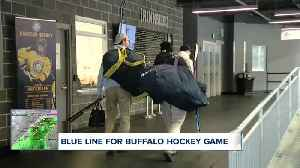 Blue Line Buffalo hockey game to support K9 unit [Video]