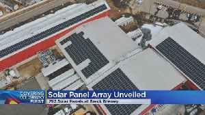 Solar Panels To Power 20% Of Brewery Annual Energy Consumption [Video]