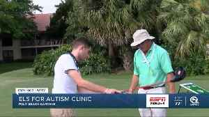 Els for Autism Golf Clinic 2/25 [Video]