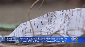 Who's To Blame For Medical Records Being Dumped In Alley? [Video]