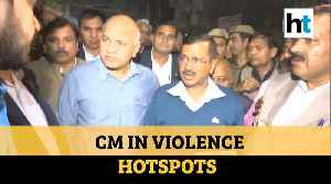 Delhi violence: After Ajit Doval, CM Kejriwal visits affected areas [Video]