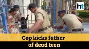 Watch: Telangana cop kicks man grieving over his daughter's death [Video]