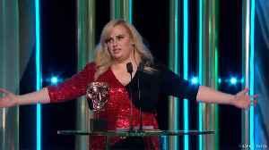 Rebel Wilson insists Duke and Duchess of Cambridge 'liked' her royal jokes at 2020 BAFTAs [Video]