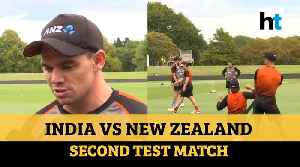 Ind vs NZ | 'India will look to bounce back': Tom Latham ahead of 2nd Test [Video]