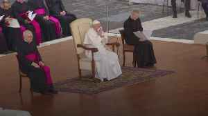 Pope cancels planned Mass due to 'slight' illness [Video]