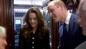 News video: Kate Middleton and Prince William Shared This Cute Moment on Their Latest Date Night