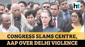 Centre, AAP were 'mute spectators' during Delhi violence: Congress [Video]