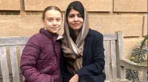 Greta Thunberg Finally Met Her 'Role Model,' Malala Yousafzai [Video]