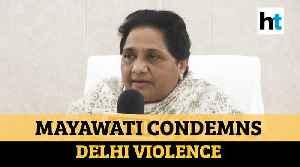 'Kejriwal should normalise Delhi's situation instead of doing politics': Mayawati [Video]