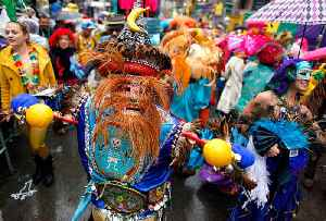 News video: This Day in History: New Orleanians Take to the Streets for Mardi Gras
