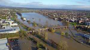 Dramatic footage reveal the extent of flooding plaguing the city of Worcester [Video]