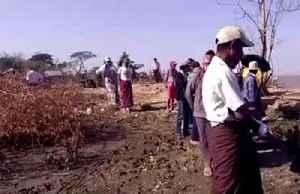Rising sea levels destroy Myanmar village [Video]