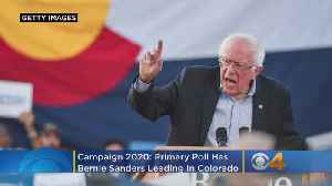 Campaign 2020: Primary Poll Has Bernie Sanders Leading In Colorado [Video]