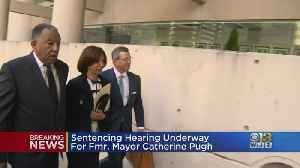 Sentencing Hearing Underway For Former Baltimore Mayor Catherine Pugh [Video]