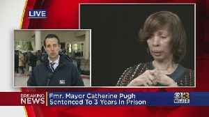 Details From Inside The Courtroom At Catherine Pugh's Sentencing [Video]