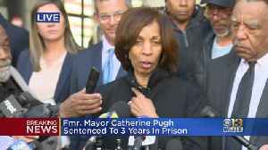 Catherine Pugh Apologizes To Baltimore Citizens Following Her Sentencing [Video]