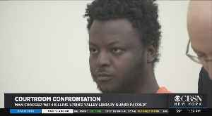 Family Of Slain Library Guard Come Face-To-Face With Man Accused Of Killing Her [Video]