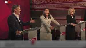 Labour leadership hopefuls clash over party's anti-Semitism crisis [Video]