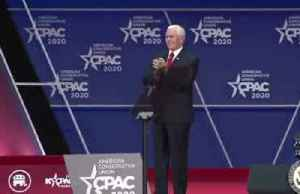 Pence at CPAC gears up for 2020 election [Video]