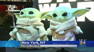 Toy Makers Show Off This Holiday Season's Top Offering At Expo [Video]