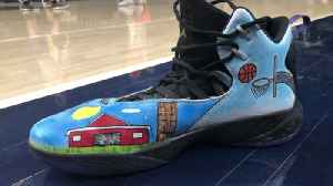 Cody Zeller special shoes [Video]