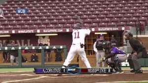 NCAA Baseball: Mississippi State vs. Alcorn State [Video]