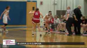 2/26/20 SCORES: Oneida girls, Brookfield boys advance to basketball section semifinals [Video]