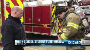 Local students participate in job shadow [Video]