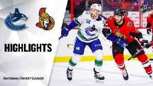 NHL Highlights | Canucks @ Senators 2/27/20 [Video]