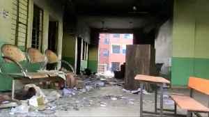 The Rajdhani Public Sen. Sec. School in Shiv Vihar destroyed by rioters [Video]