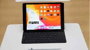 Apple iPad Keyboard Cover May Get Trackpad [Video]