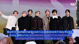 BTS Cancels Four Concerts in Seoul Amid Coronavirus Outbreak [Video]