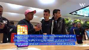 Apple Set to Open Its First Physical Stores in India [Video]