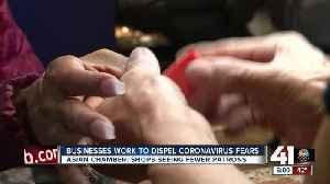 Businesses work to dispel coronavirus fears [Video]